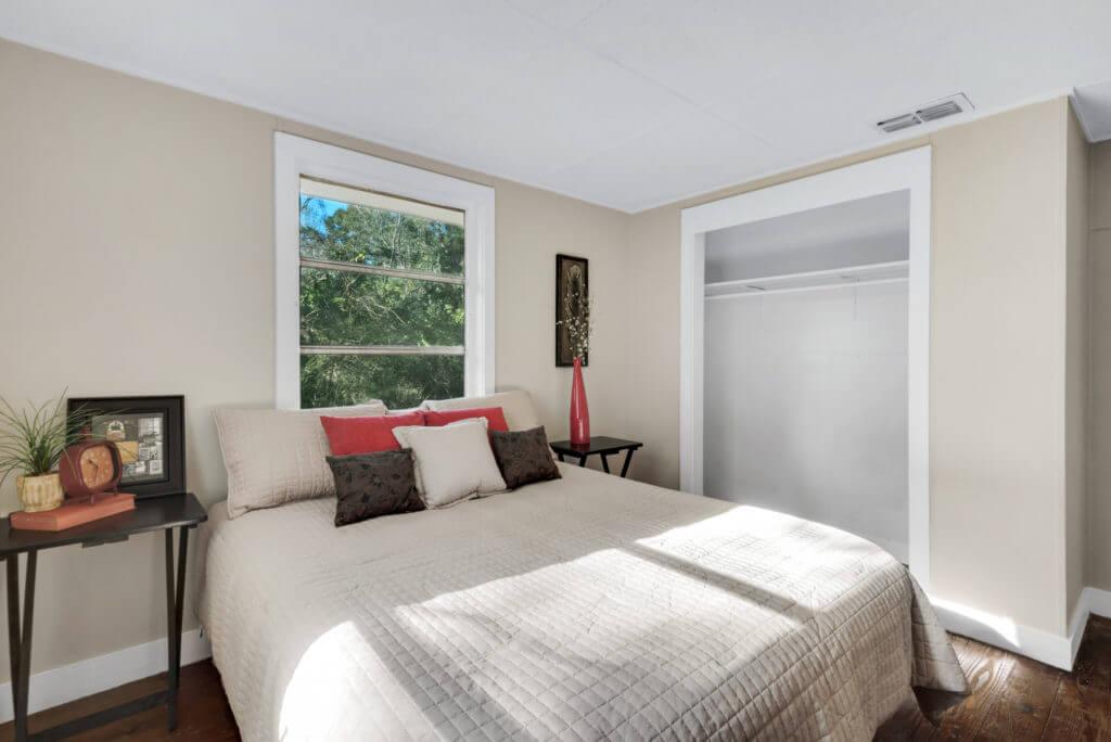 7390 New Era Road bedroom 3 showing closet