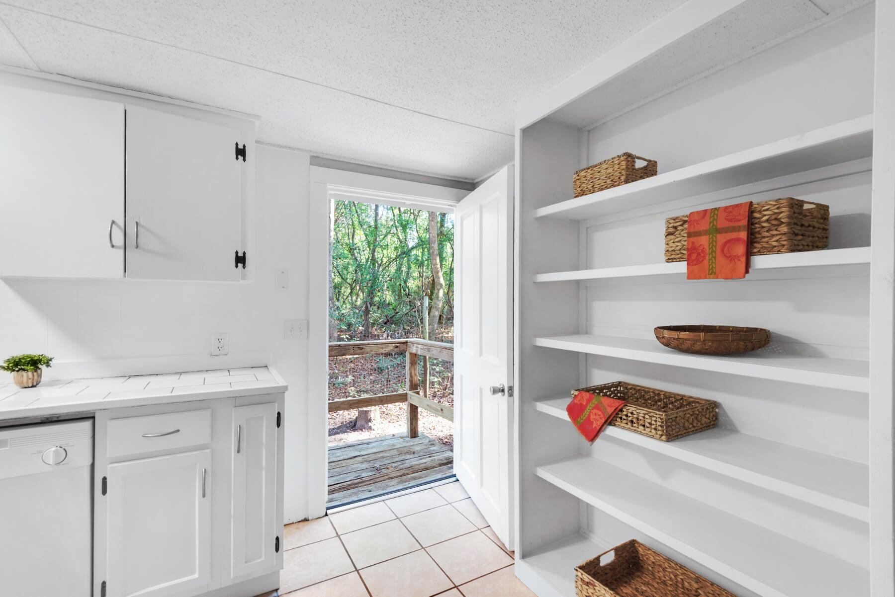 7390 New Era Road kitchen pantry shelves