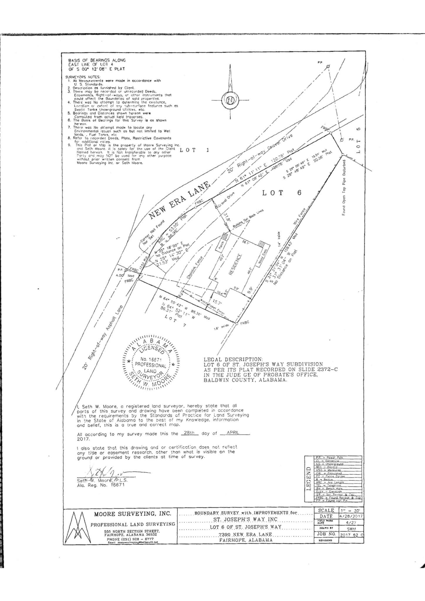 7390 New Era Road Survey