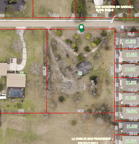1314 Randall Avenue Daphne, AL 36526 aerial view