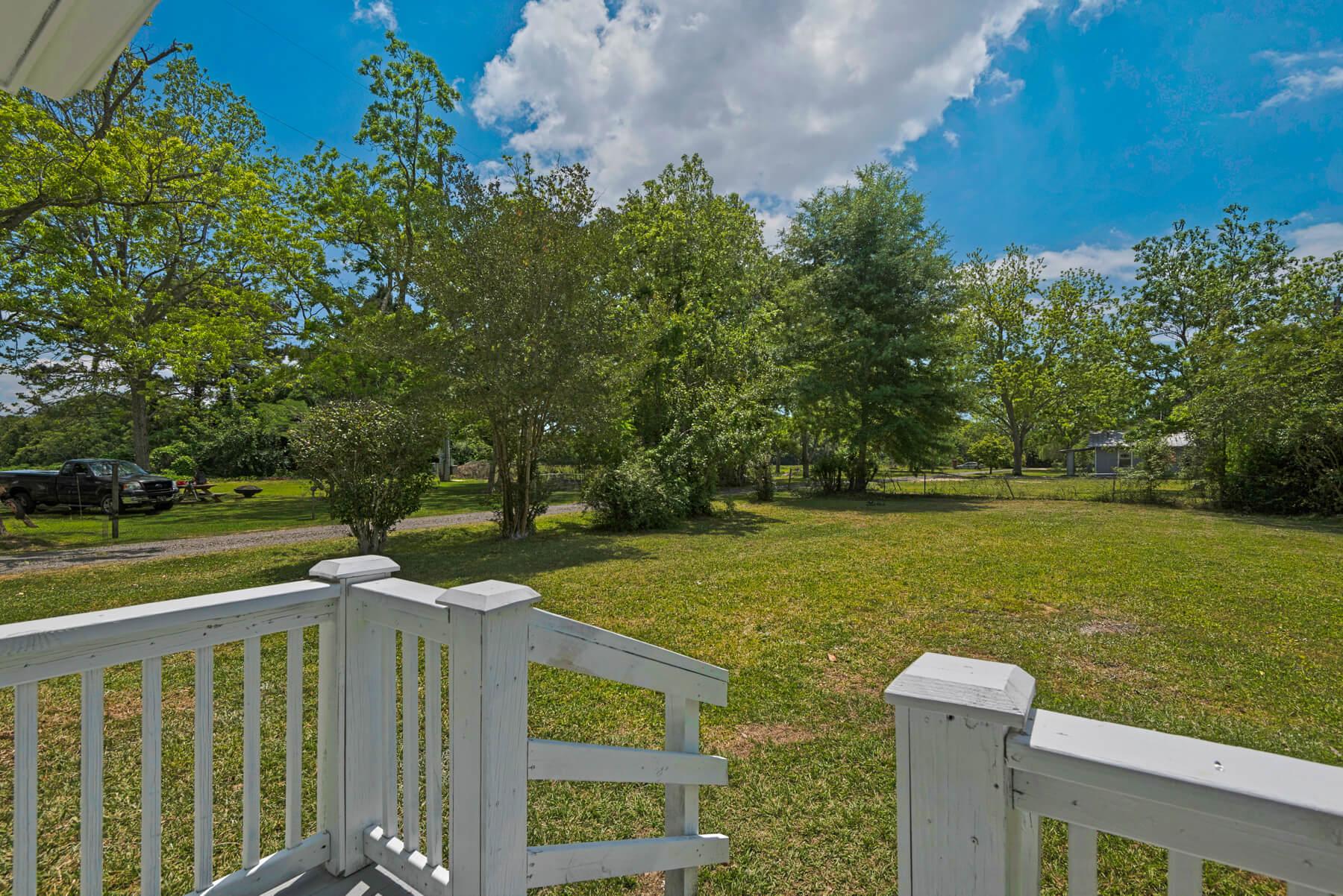 7466 Twin Beech Road Fairhope for Sale Urban Property backyard view 1