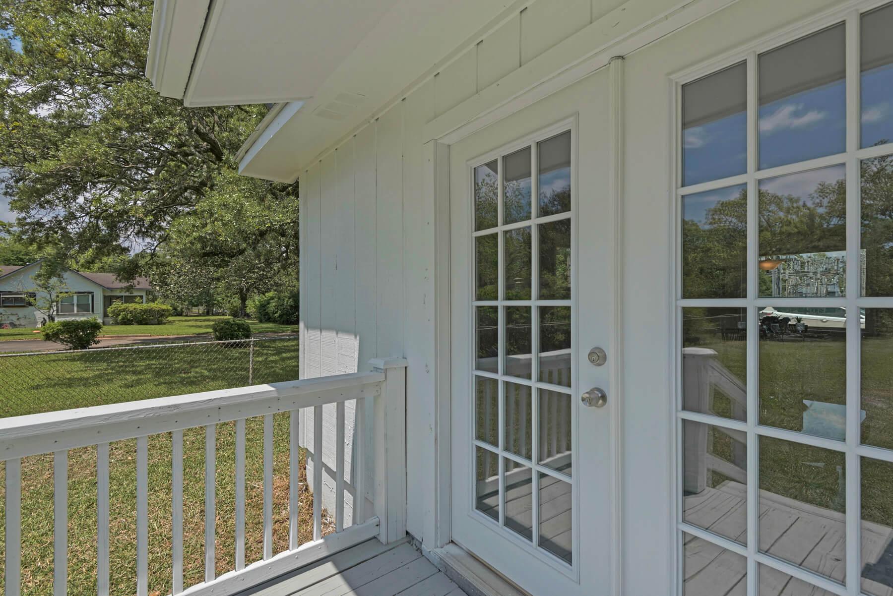 7466 Twin Beech Road Fairhope for Sale Urban Property backyard view 3