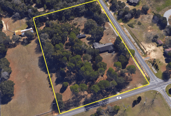 9072 Twin Beech Road Fairhope AL Aerial View South