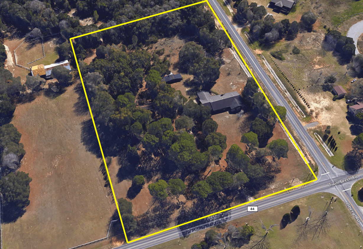 Fairhope Acreage Six Acres With Large Home For Sale