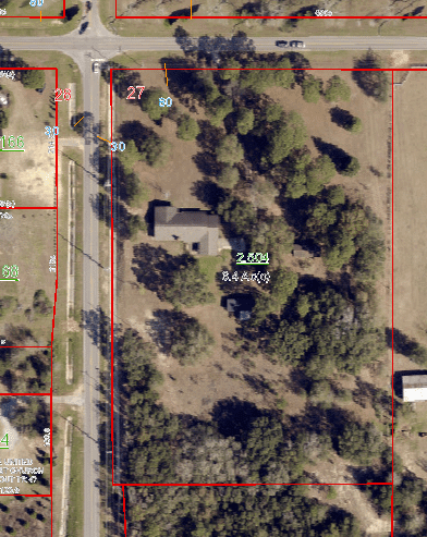 9072 Twin Beech Road Fairhope, AL for sale aerial view