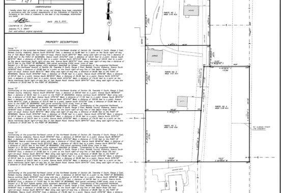 7466 Twin Beach Road Fairhope Survey