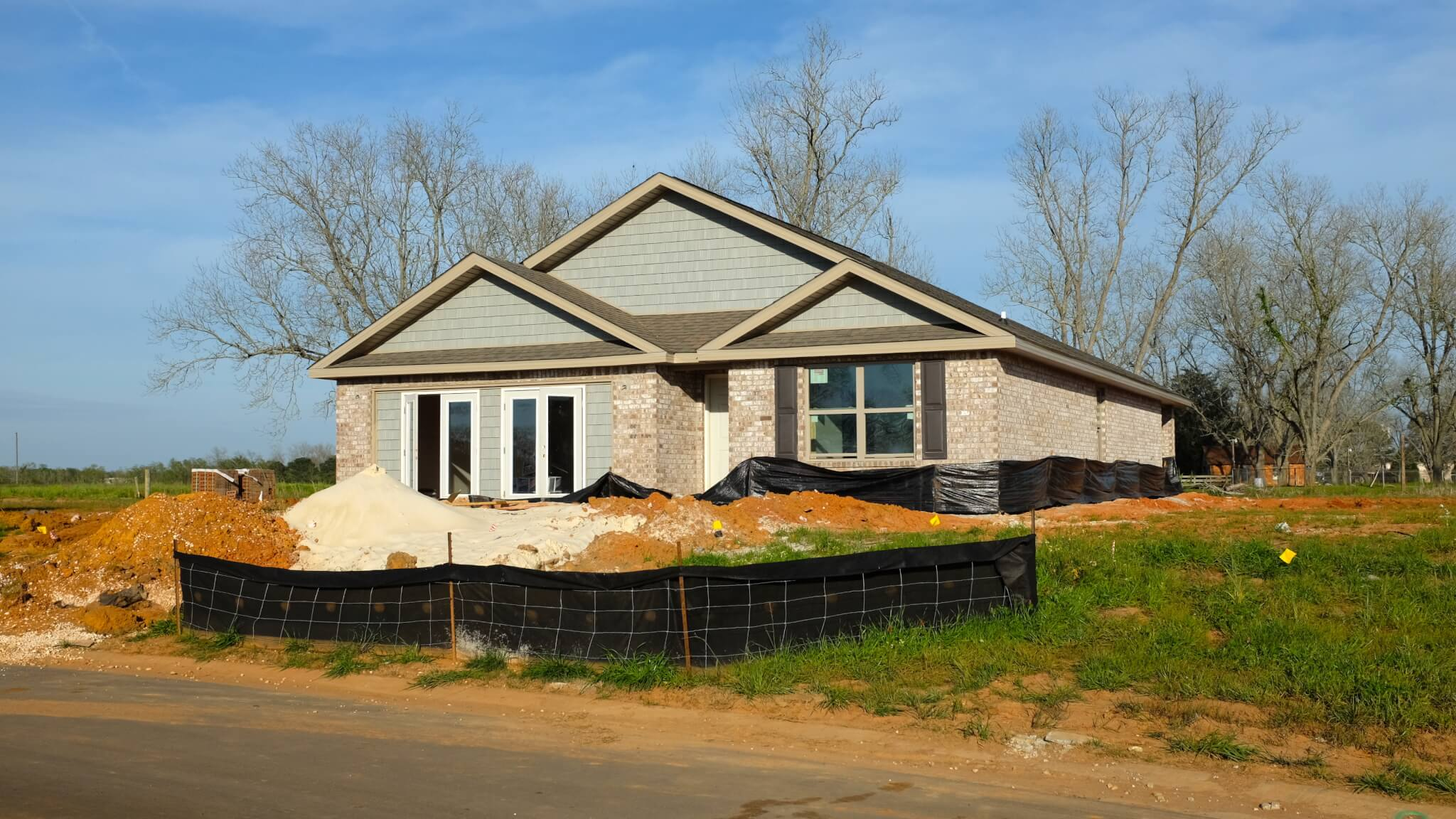 Winged Foot New Homes by DR Horton in Daphne Alabama - new home under construction