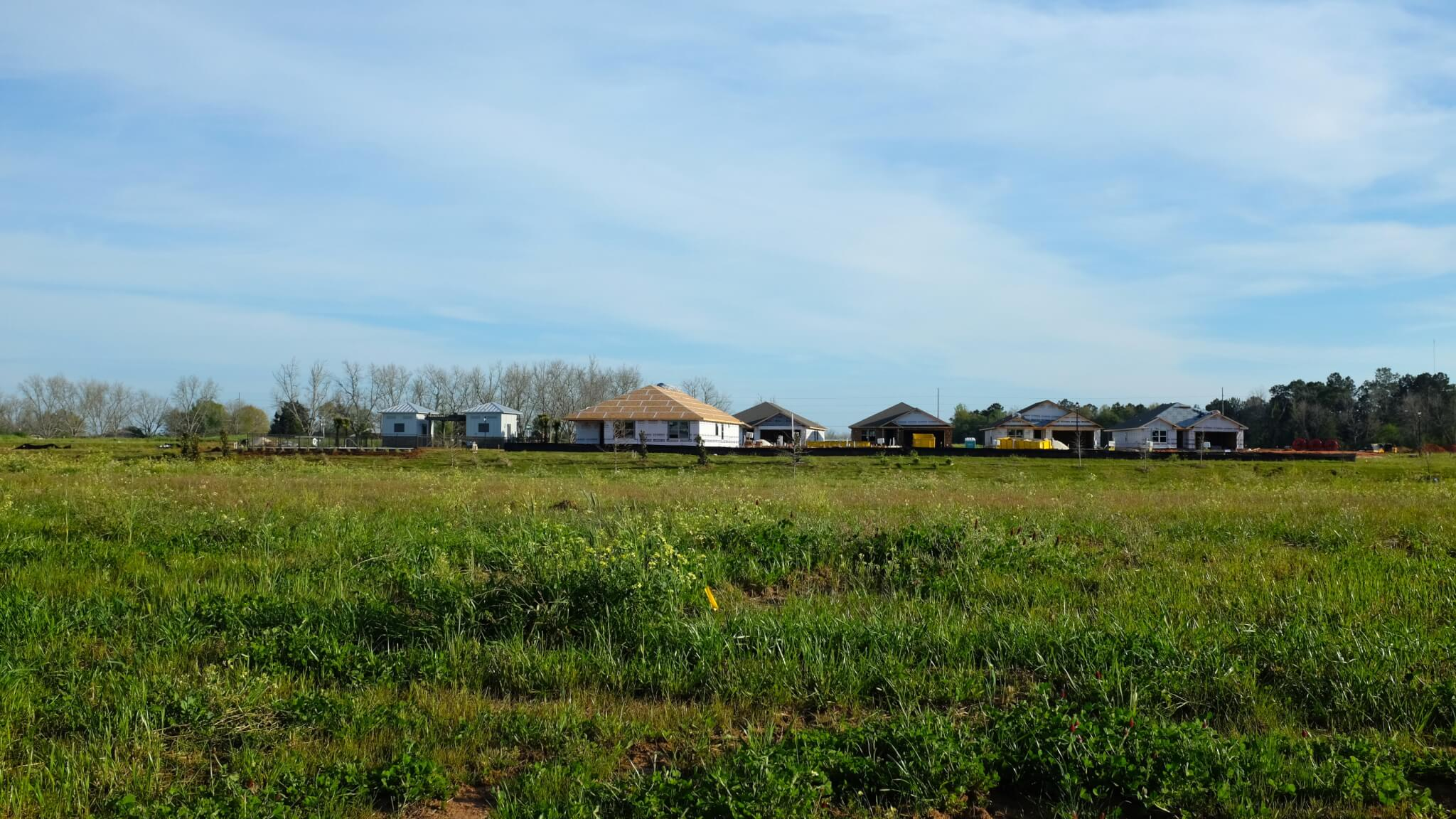 Winged Foot New Homes by DR Horton in Daphne Alabama - wide open spaces