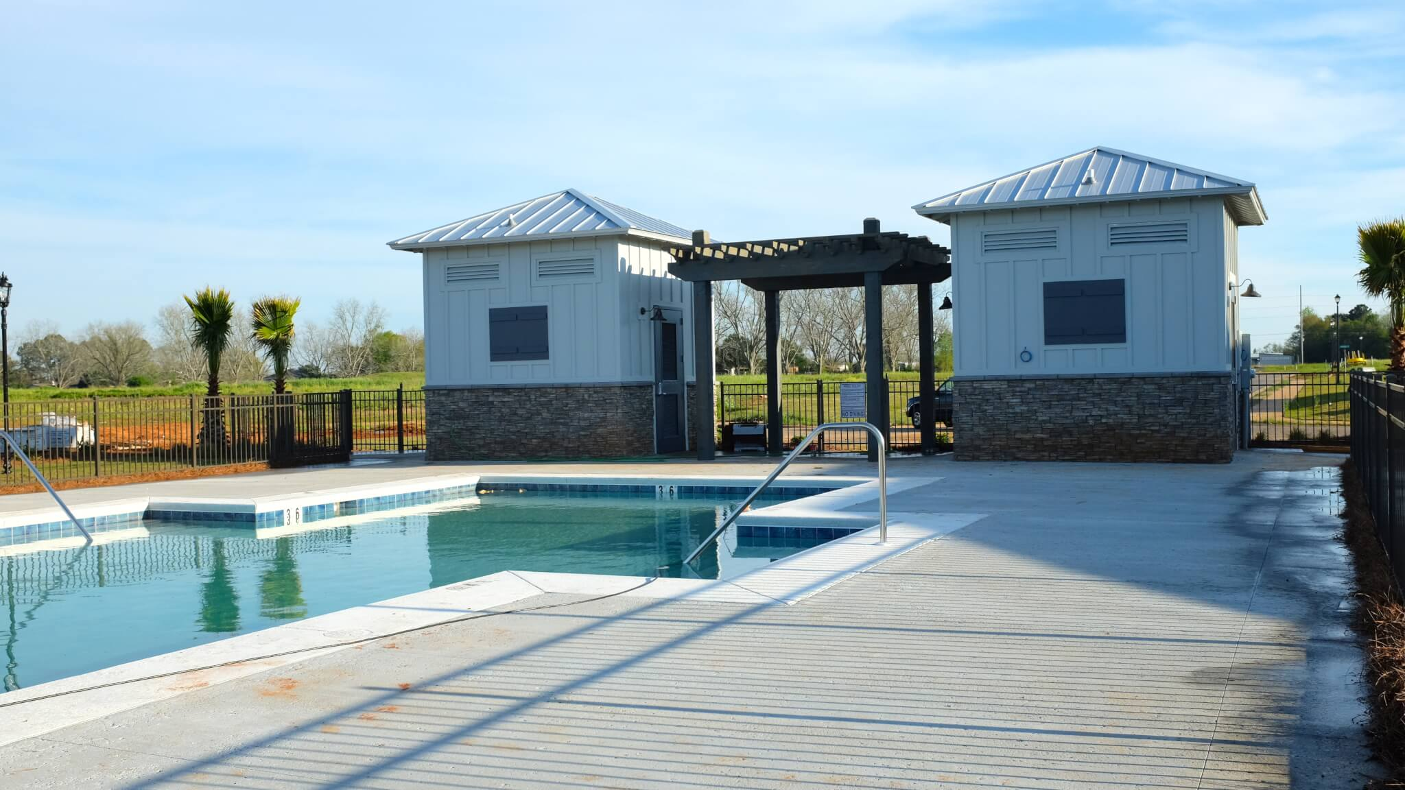 Winged Foot New Homes by DR Horton in Daphne Alabama - Community Pool
