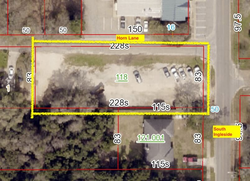 lot for sale on South Ingelside Fairhope AL behind Thomas Hospital movetobaldwincounty.com