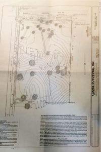 9072 Twin Beech Road Fairhope topographical survey