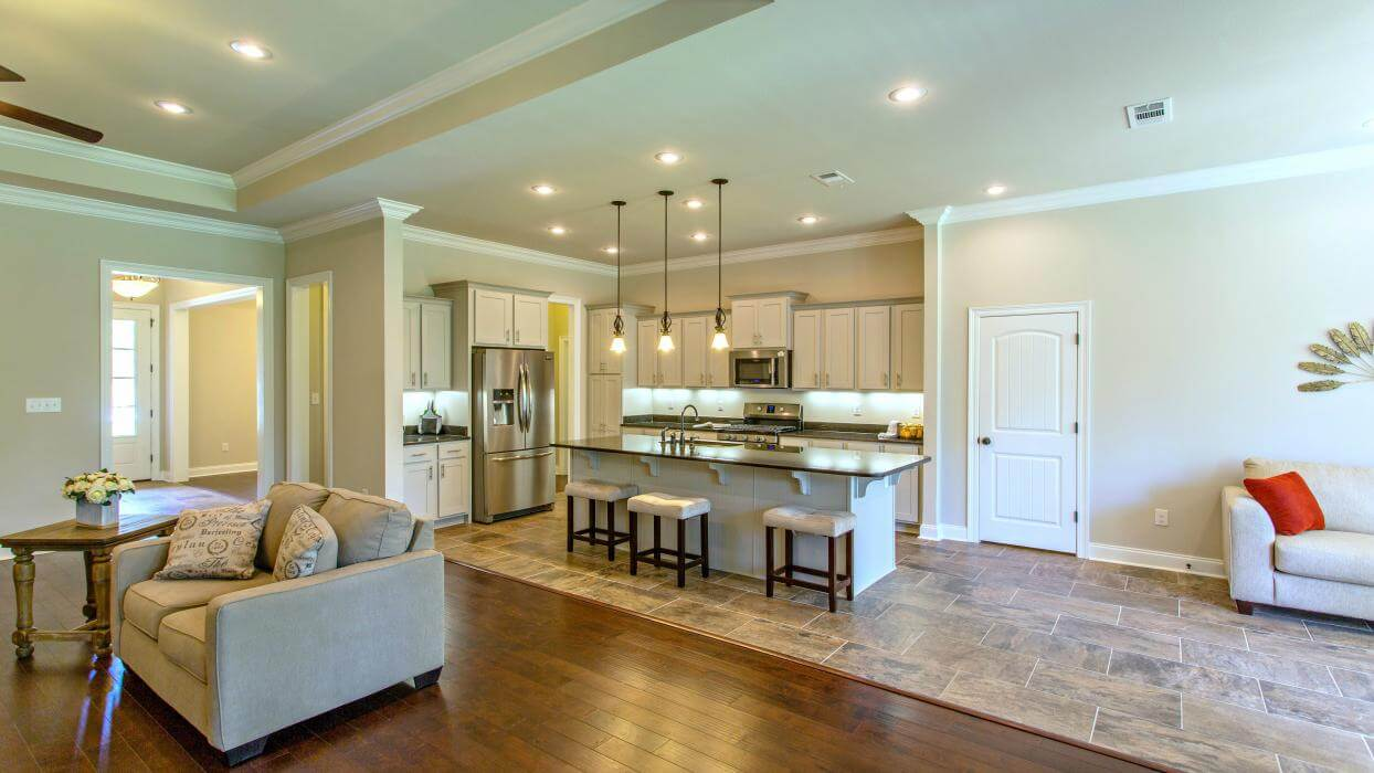 DSLD Homes in Baldwin County New Home Kitchen View