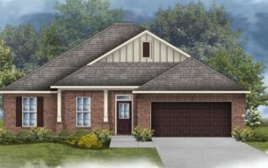 New Home in Savannah Woods in Spanish Fort, Alabama