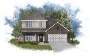 New Home in Sonoma Ridge in Silverhill, Alabama