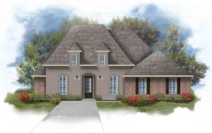 New home in Canaan Place in Daphne, Alabama
