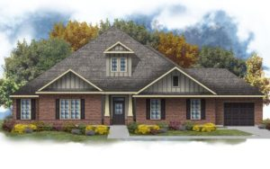 New home in Pinewood in Fairhope, Alabama