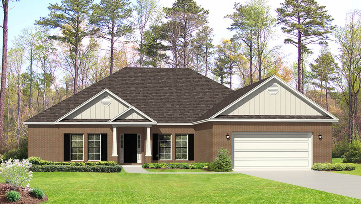 Avery Floorplan Homes By Dr Horton For Sale In Baldwin County