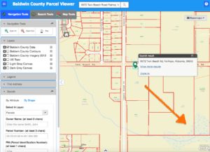 Baldwin County Map Viewer Image movetobaldwincounty.com Urban Property