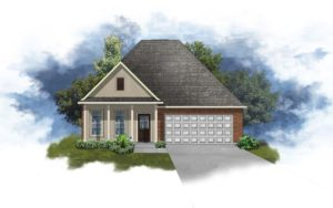New Home in Stone Creek Villas in Fairhope, Alabama