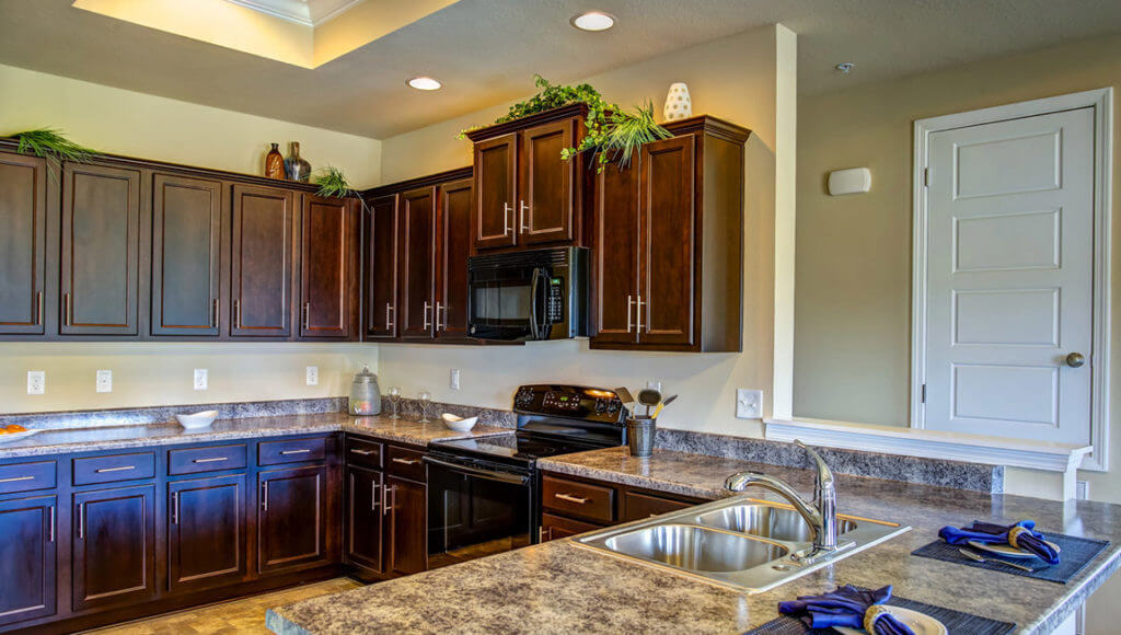 Quail Hollows Townhomes in Spanish Fort - Kitchen view