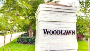 Woodlawn in Fairhope, Alabama - Entrance Sign