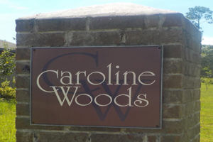 caroline woods daphne AL neighborhood sign movetobaldwincounty.com Urban Property