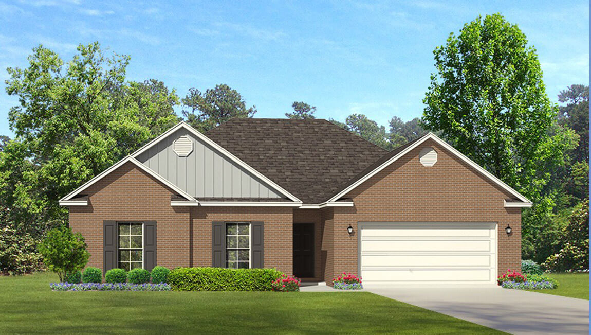 Priced from $222,900 1,814 square feet 3 bedrooms 2 baths single story 2 car garage