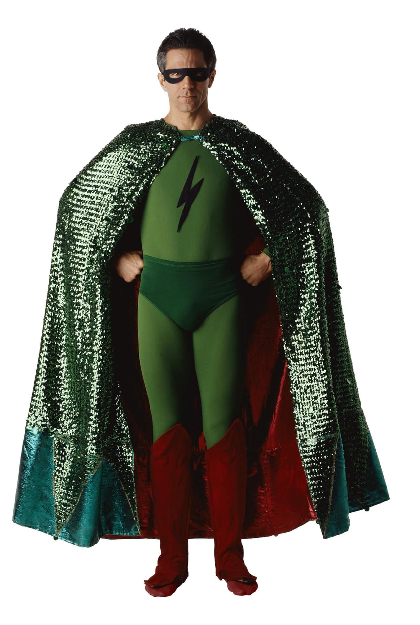 Dave in full cape