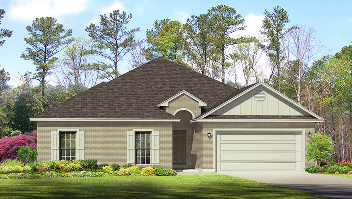 Priced from $249,900 2,306 square feet 4 bedroom 2.5 baths single story 2 car garage