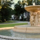 Fountain in Trentino subdivision Fairhope, AL