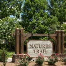 Natures Trail Sign in Fairhope, Alabama